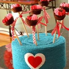 Valentine Cake Pop Stand