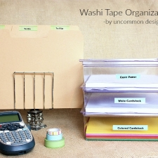 Simple Washi Tape Labels