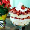 The Best Ever Strawberry Shortcake Trifle
