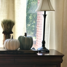 A Touch of Fall Decor