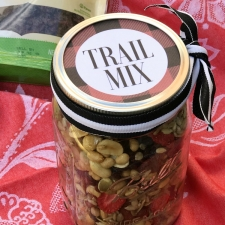 Homemade Trail Mix and Free Printable Labels