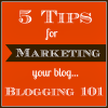 Five Tips for Marketing your Blog