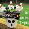 Boo! Treats for Your Neighbors
