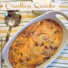 Bacon and Onion Crustless Quiche