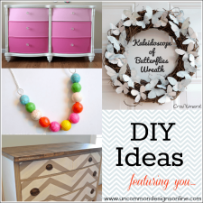 DIY Ideas... Monday Funday Features