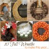 10 Fall Wreaths to Make This Year