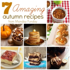 7 Amazing Autumn Recipes and the Monday Funday Link Party
