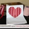 Anthropologie Inspired Valentine Tea Towel