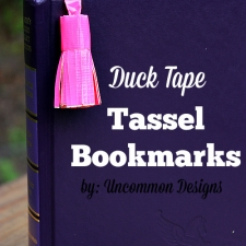 Duck Tape® Tassel Bookmarks