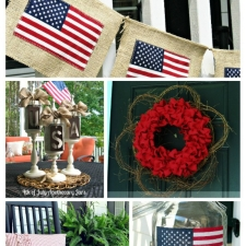 Fourth of July Front Porch Ideas