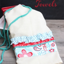 Summer Inspired Flour Sack Towel