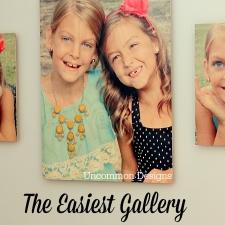 Easiest Gallery Wall Ever