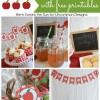 Apple Party Free Printable Pack