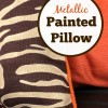 Painted Fall Pillows