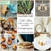 13 Fall Ideas - Crafts, Recipes, and Printables | Monday Funday