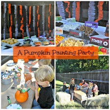 A Pumpkin Painting Party