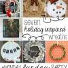 30+ Christmas Crafts   Monday Funday