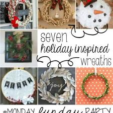 30+ Christmas Crafts | Monday Funday