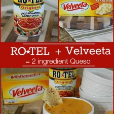 Easy 2 Ingredient Queso