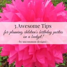Budget Party Planning Ideas For Kids