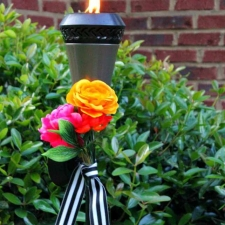 Dress Up Your Tiki Torch
