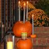 DIY Candlestick Pumpkins
