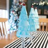 Coffee Filter Christmas Trees