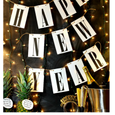 Happy New Year Free Printable Banner