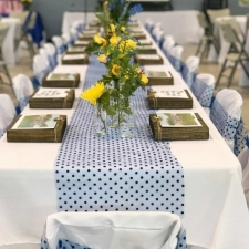 Chic Banquet Decorations on a Budget