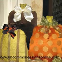 fabric pumpkin pillows 016