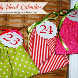 A Family Commitment and Advent Calendar …{ A Mini Tutorial}