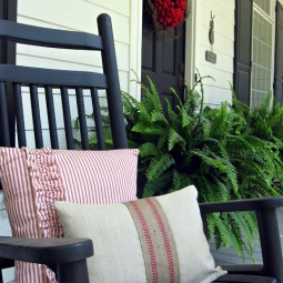 Uncommon Porch Pillows 4th of July 2011