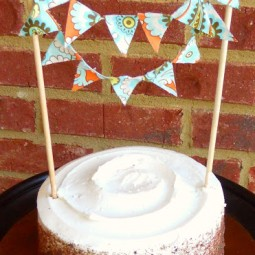 Party Bunting outdoor blog