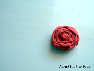 fabric-flower-ponytail-holders