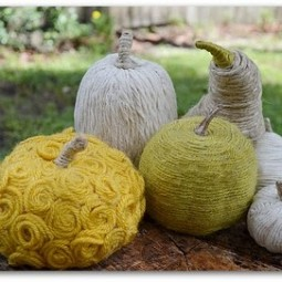 gourds and pumpkins yarn