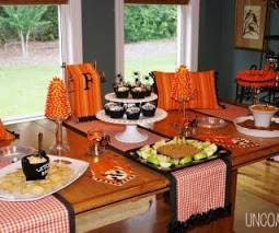"""Our Halloween """"Boo"""" tique Tablescape"""