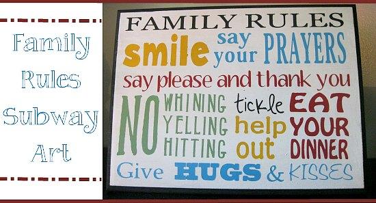 family-rules-subway-art