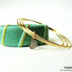 thread-wrapped-bangle-bracelet