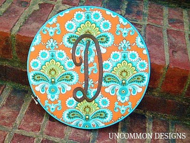 embroidery-hoop-wall-art-uncommon-designs (1) & Monogrammed Embroidery Hoop Wall Art - Uncommon Designs