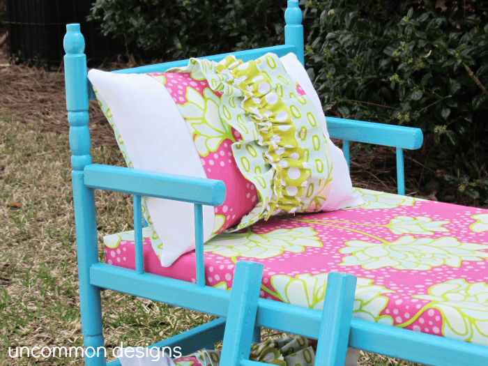 Simple American Girl Bunk Bed Tutorial by Unmon Designs Online