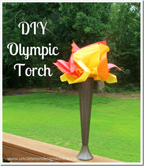 Olympic Torch via www.uncommondesignsonline.com