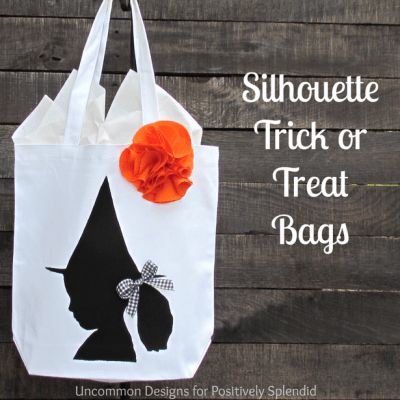 Silhouette Trick or Treat Bags