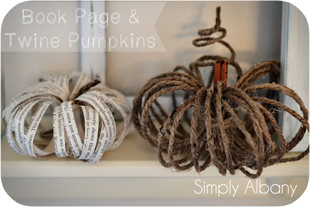 Book_Page_and_Twine_Pumpkins