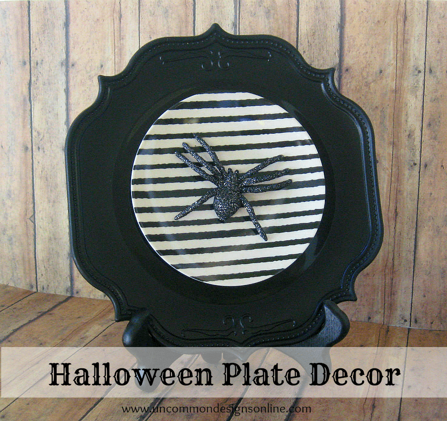Halloween Plate Decor