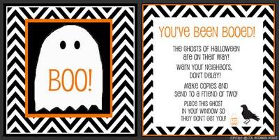 Free Boo! Printable