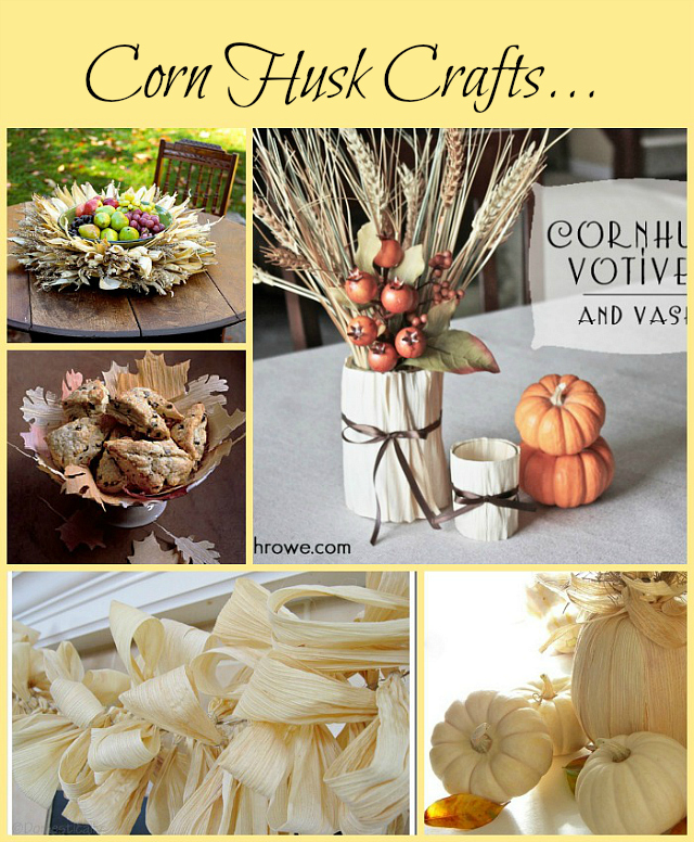 corn husk crafts