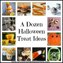 A Dozen Halloween Treat Ideas