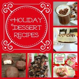 holiday dessert recipes