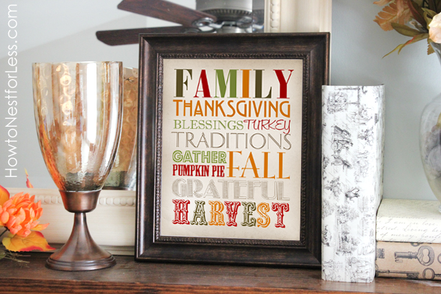 Thanksgiving Home Decor Ideas