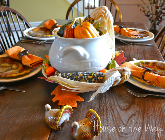 Thanksgiving home decor and table ideas for Thanksgiving home ideas